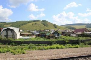 4129-й км Транссиба. Село Зыково